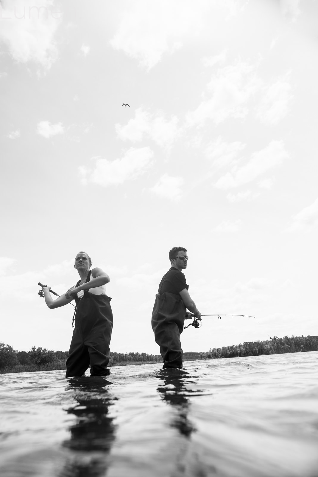 destination, engagement, photography, lumen, adventurous, couture, hackensack, minnesota, minneapolis, kayak, fishing, water