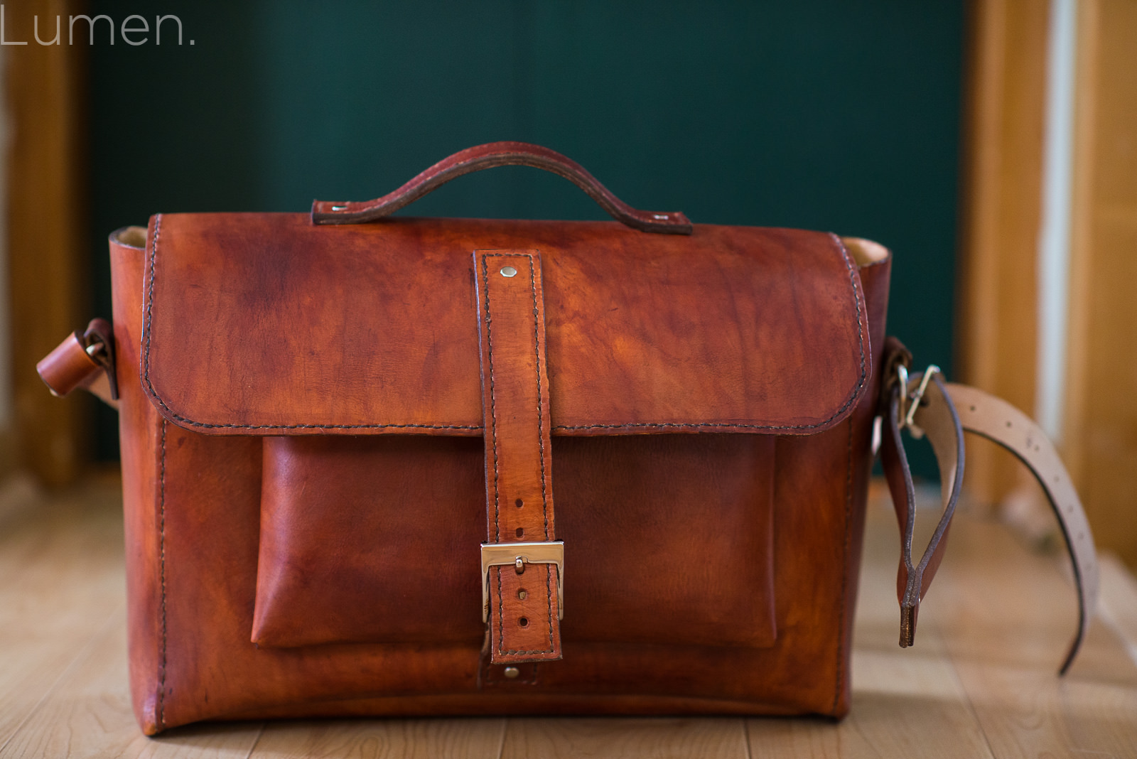 lumen photography, leather, product photography, homemade