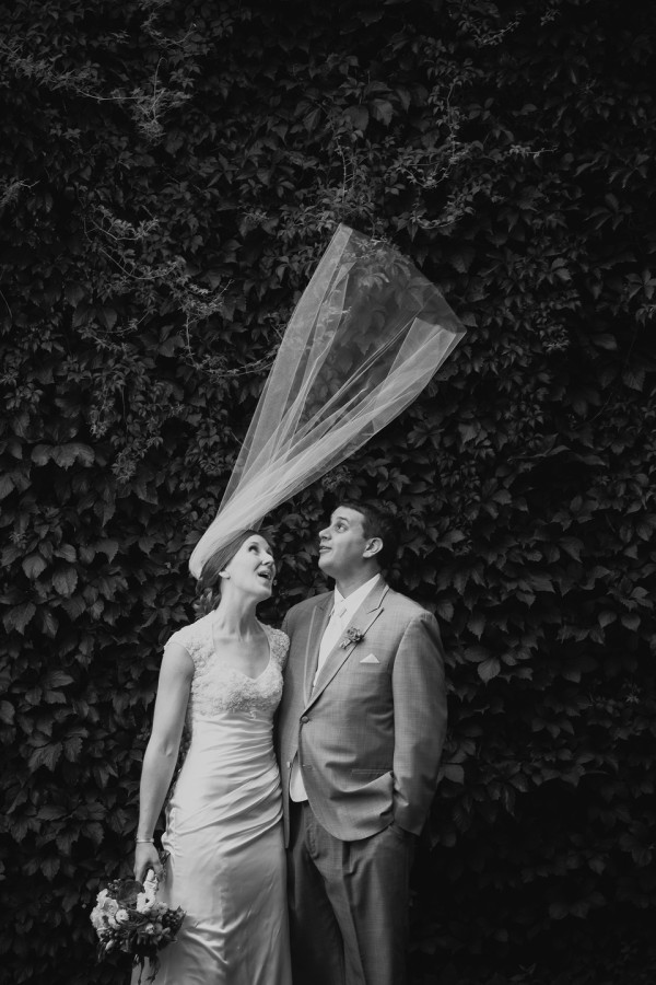Funny Veil Photo