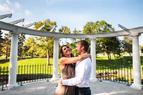 Como Park Engagement Session