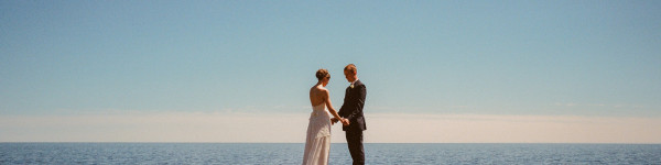 Bluefin Bay Wedding Photo
