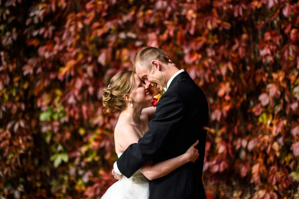 Fall Wedding Photo