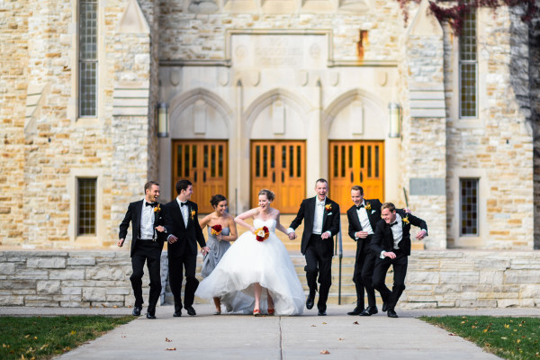 St. Olaf Wedding Photo