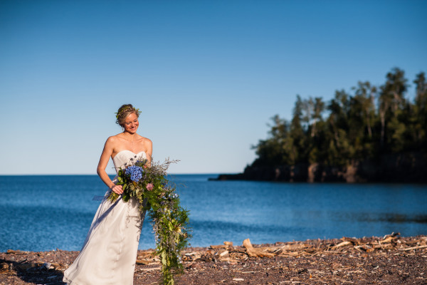 North Shore Wedding Photo